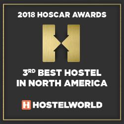 top 3 best hostel north america